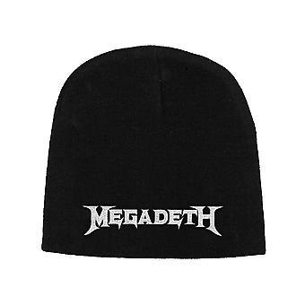 Megadeth Beanie Hat Band Logo new Official Black