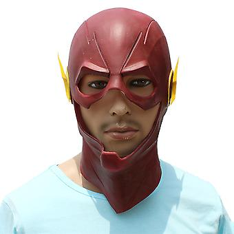 Halloween Party Costume Props Headgear Latex Red Flash Mask Cosplay Props