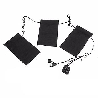 8-in-1 5v Usb Heater Undefined Heated Pad Cloth