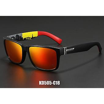 スポーツ男性の刷新は衝撃的な色のサングラスを偏光