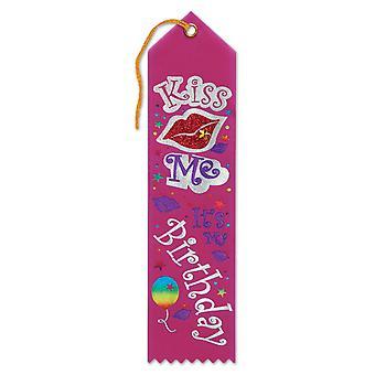 Bésame, Es mi cumpleaños cinta con joyas (paquete de 6) - Jr098