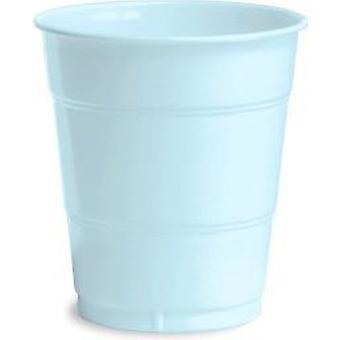 12Cup Pl 12/20Ct Blu pastello