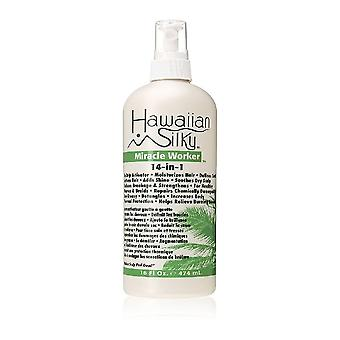 Hawaiian silky 14-in-1 miracle worker leave-in conditioner spray, 16 oz