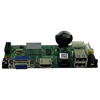 Netwerkrecorder Dvr Board Motion Detection Max Ip Camera met Sata Line Onvif