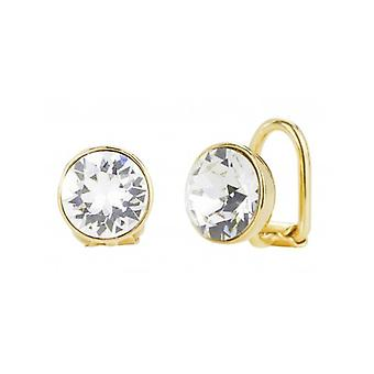 Traveller Clip Earring - Gold Plated - Swarovski Crystal - 155990 - 781