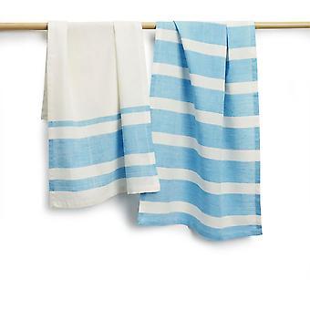 "Spura Home Cocina Cocina Tejida a mano algodón absorbente toallas de té 27""x19"" Conjunto de 2"