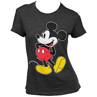 Disneys Mikke Mus Stående Kvinners T-skjorte