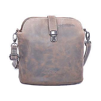Arrigo Unisex crossbody bag, 22 x 23 x 12 cm, Brown (Brown (strawberry)), 22x23x12 cm (B x H x T)