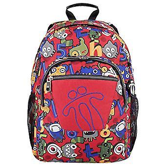 Totto Mochila Acuareles Casual Backpack 40 centimeters 25 Multicolor (Multicolor)(3)