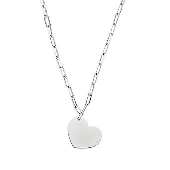 NOELANI Women's pendant necklace, sterling 925 silver, heart-shaped