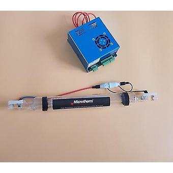 0133 Tub laser Veci Glass Co2 60w 1250mm Lungime 55mm Diametru