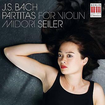 J.S. Bach - J.S. Bach: Partitas for Violin [CD] USA import
