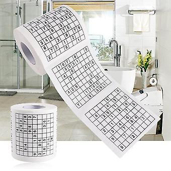 מספר חידוש סודוקו בטיחות מודפס נייר טואלט