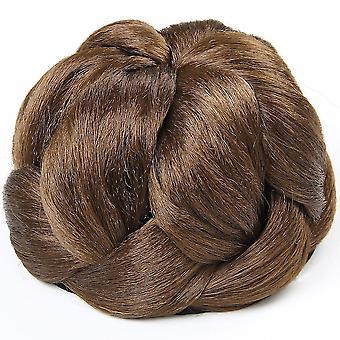 Chignons Пончик ролика Бун парик волос кусок волос Бун волос хвост