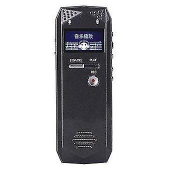 8GB 16GB 32GB Wiederaufladbare Voice Recorder Pen MP3 Player Unterstützung TF-Karte