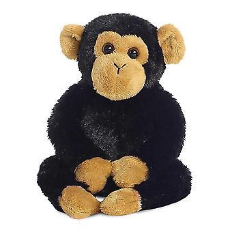 Aurora Mini Flopsies - Clyde Chimp Soft Toy 20cm