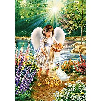 Castorland An Angel's Warmth Jigsaw Puzzle (500 Pieces)