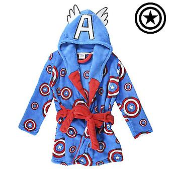 Детский халат Marvel Blue