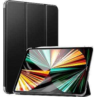 Hülle für iPad Pro 12.9 2021,Ultra Schlank leichte und Klappständer Schutzhülle mit Transparent