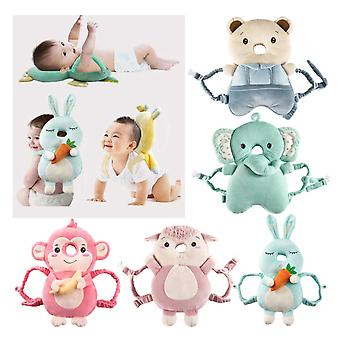 Baby Head Protection Pillow Neck Safe Cushion Pad Breathable Anti-fall Headrest