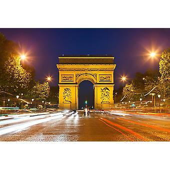 Tapeta Mural Arch triumfu w Paryżu