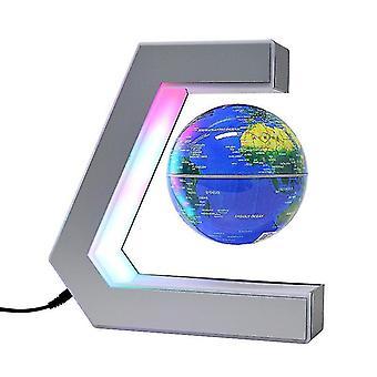 Magneettinen levitaatio valovoimainen pyörivä maapallo toimisto kotiin sisustus