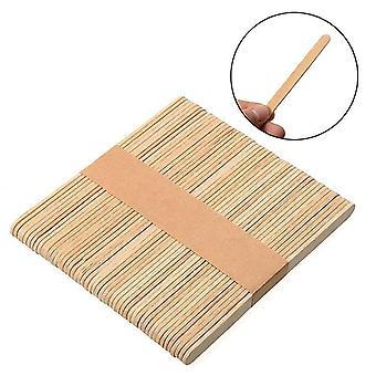 Jednorazové drevené tlmiče jazykov