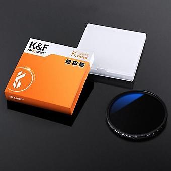 37-82mm Nd2 till Nd400 Nd Lins filter Fader