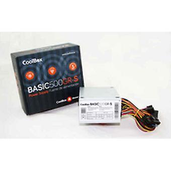 Strømforsyning CoolBox SFX BASIC 500GR-S 500W