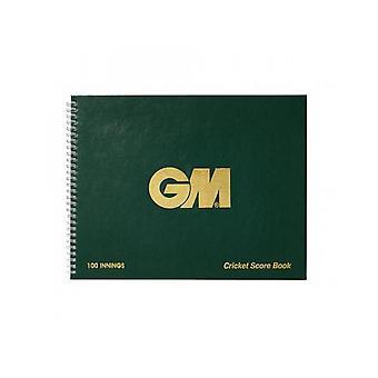 Gunn & Moore GM Accessories 100 Innings Round Scorebook Game Analysis