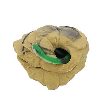 Reptilien Verstecken Höhle Basking Verstecken Lebensraum Dekoration Reptilien Terrarien Dekor Verstecke für Eidechse