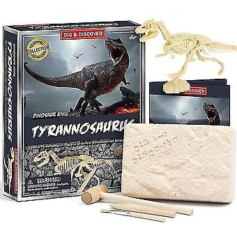 Science exploration sets childrens 6+ educational diy dinosaur fossil archeological digging toys d7139