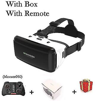 3D glasses g06 vr shinecon vr reality glasses 3d for iphone android smart phone smartphone headset helmet