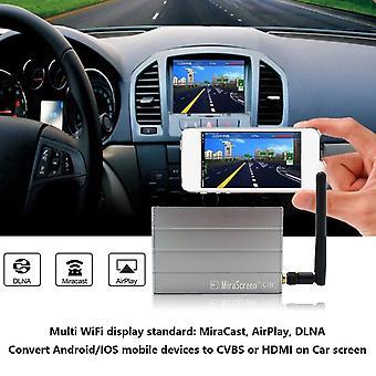 Aluminiumlegierung Auto Multimedia Display Dongle Mirror Box für IOS für Android