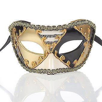 Maschera Veneziana Testa Piatta Antica
