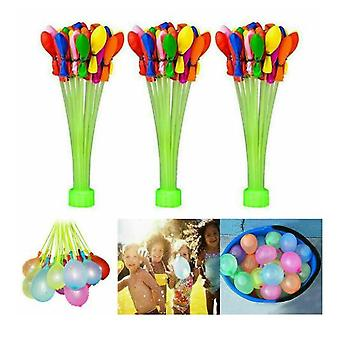 Water Balloons Pack Of 111 Self-tying Water Bombs Outdoor Party