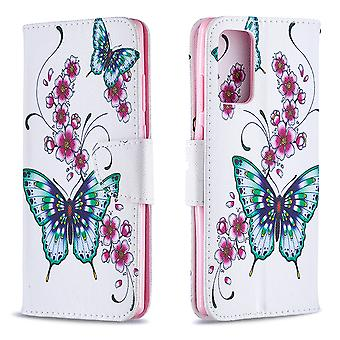 Samsung Galaxy Note 20 Fall Muster Schmetterling Floral