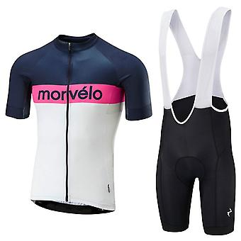 Summer Cycling Jersey Sets Mtb Bike Suit Men Short Sleeve Cycling Clothes Quick Dry Bike Jersey 20d Gel Pad