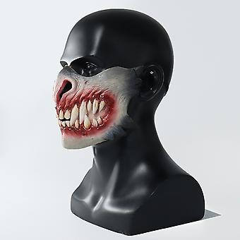 Halloween Mask Tooth Holiday Funny Supersoft Cosplay Adult Mask Toy Evil Mask Party Costume Ghost Scary Mask