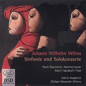 Giacometti, Paolo/Kolner Akademie - Johann Wilhelm Wilms: Sinfonie Und Solokonzerte [SACD] USA import