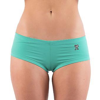 Destronar Shorts quente feminino - hortelã