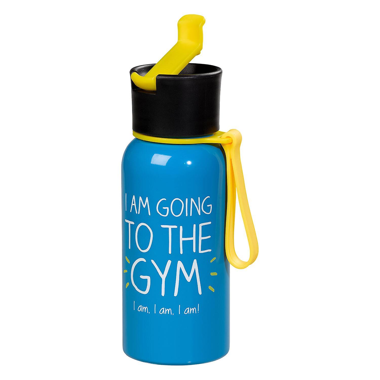 I 'm Going To die Turnhalle Wasserflasche von glücklich Jackson