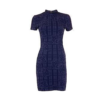 Topshop Paisley Kortärmad Body Con klänning DR840-12