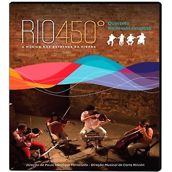 Quarteto Radames Gnattali - Rio 450 [Blu-ray] USA import