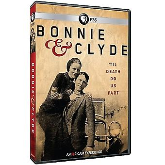 American Experience: Bonnie & Clyde [DVD] USA import