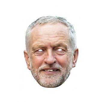 Jeremy Corbyn Single 2D Card Party Fancy Dress Mask