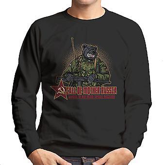 Call Of Mother Russia Men's Sweatshirt
