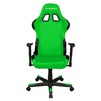 DX Racer DXRacer OH/FD99/EN High-Back Ergonomic Computer Desk Chair PU(Black/Green)