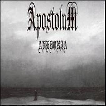 Apostolum - importer des USA Anedonia [CD]