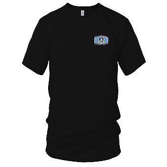 USAF luftforsvar - U.S.A.F. sikkerhet tjenester brodert Patch - Mens T-skjorte